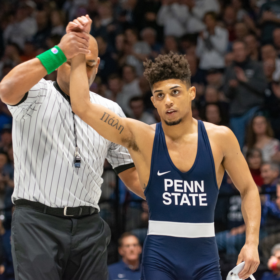 Penn State Wrestling Rolls to 30-9 Win Over Northwestern