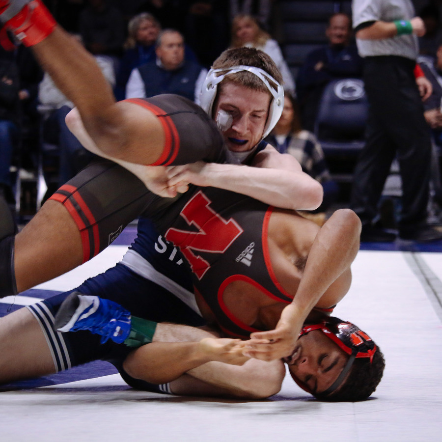 Top-10 Matches Highlight Penn State Wrestling's Trip to Nebraska
