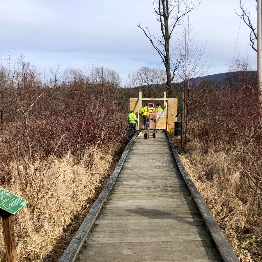 With Sections of Millbrook Marsh Boardwalk Closed, Parks & Rec Looks at Short-Term Repairs, Long-Term Solutions