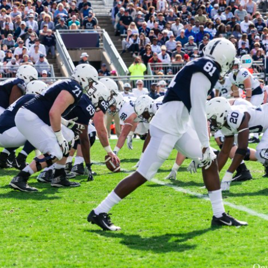 Penn State Football: 2020 Blue White Game Kick Set