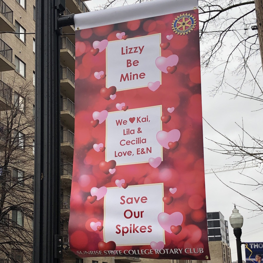 Sunrise Rotary Club Sending Messages of Love Throughout State College
