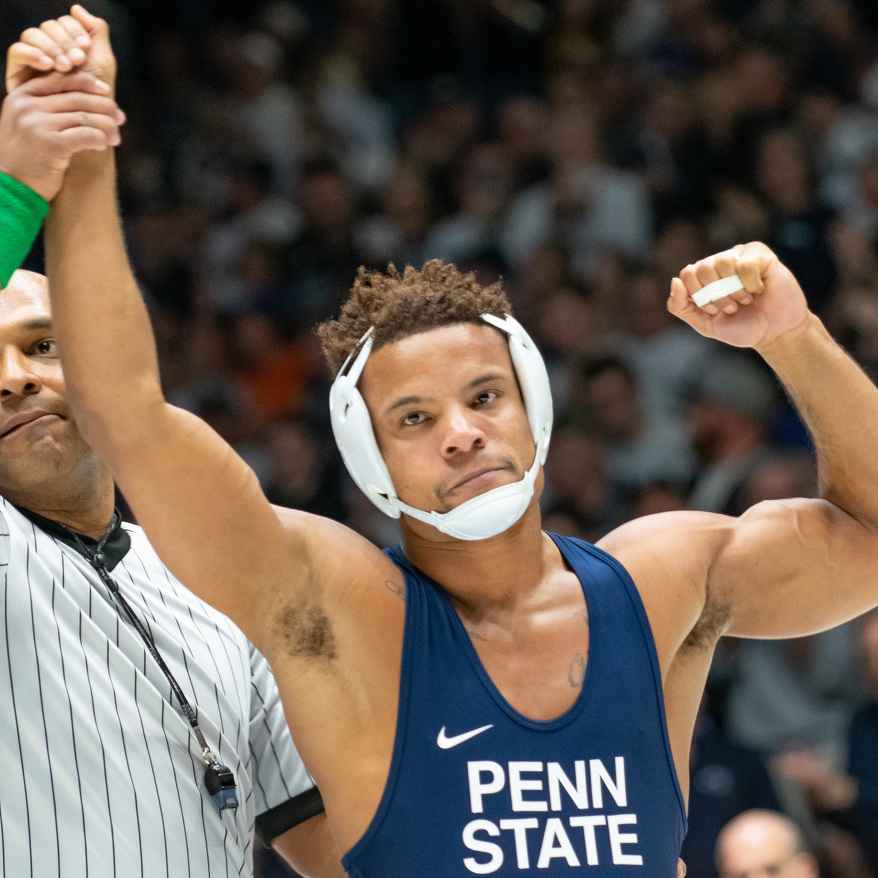 Mark Hall Eyes Career Following in Cael Sanderson's Footsteps as a Coach