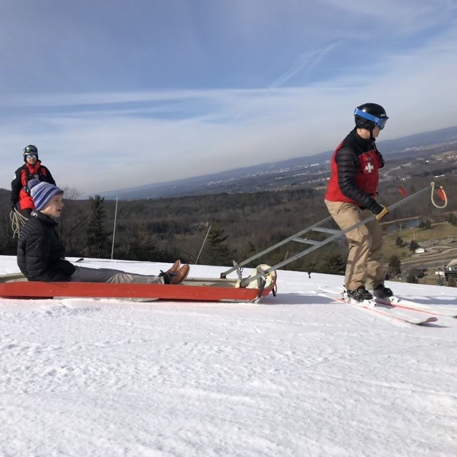 Ski Patrol Keeps Tussey Slopes Safe