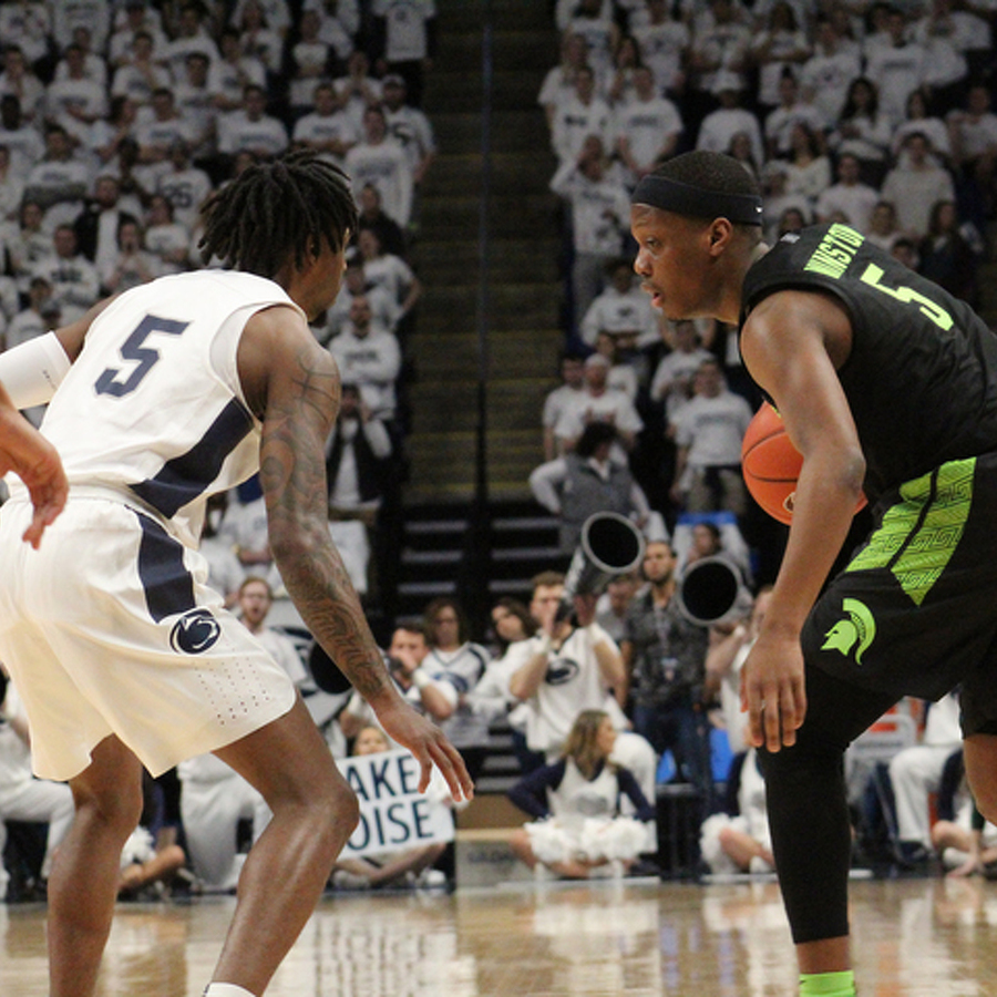 No. 20 Penn State Basketball Collapses in 2nd Half Again, Falls to No. 16 Michigan State
