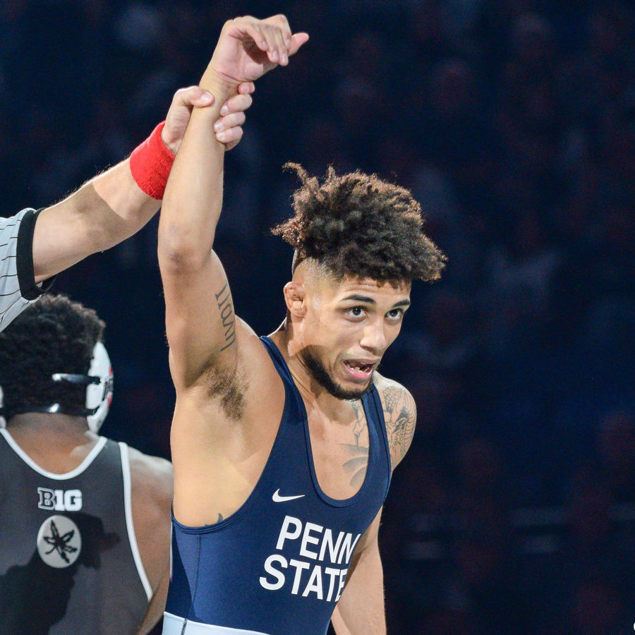 Penn State Wrestling Advances Six to Semifinals of Big Ten Championships