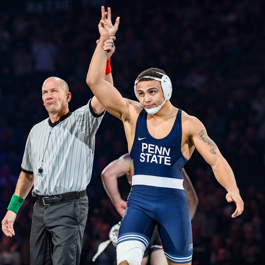 Penn State Wrestling Crowns Two Big Ten Champions, Places Fourth