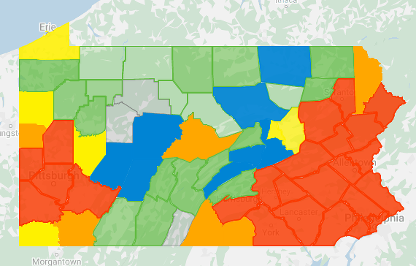 State College Pa Pennsylvania Covid 19 Cases Surpass 10 000 Seven New Cases In Centre County