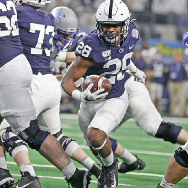 In Uncertain Times, One Thing Remains the Same: The Nittany Lions Have Tons of Options at Running Back