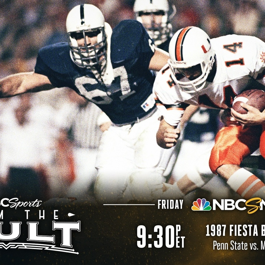 1987 Fiesta Bowl Broadcast Is a Chance to Re-experience a Story for the Ages