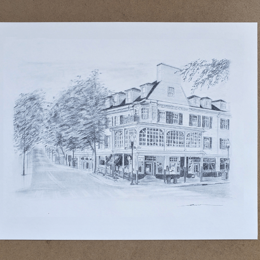 Penn State Alum Selling Custom Prints to Help Feed State College Community