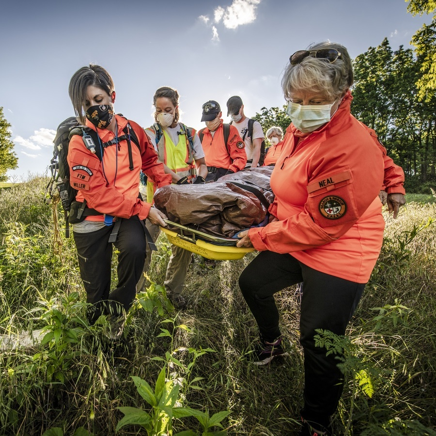 Search and Rescue: CREST volunteers are trained to help lost or injured hikers, bikers, and hunters – but that's not all they do