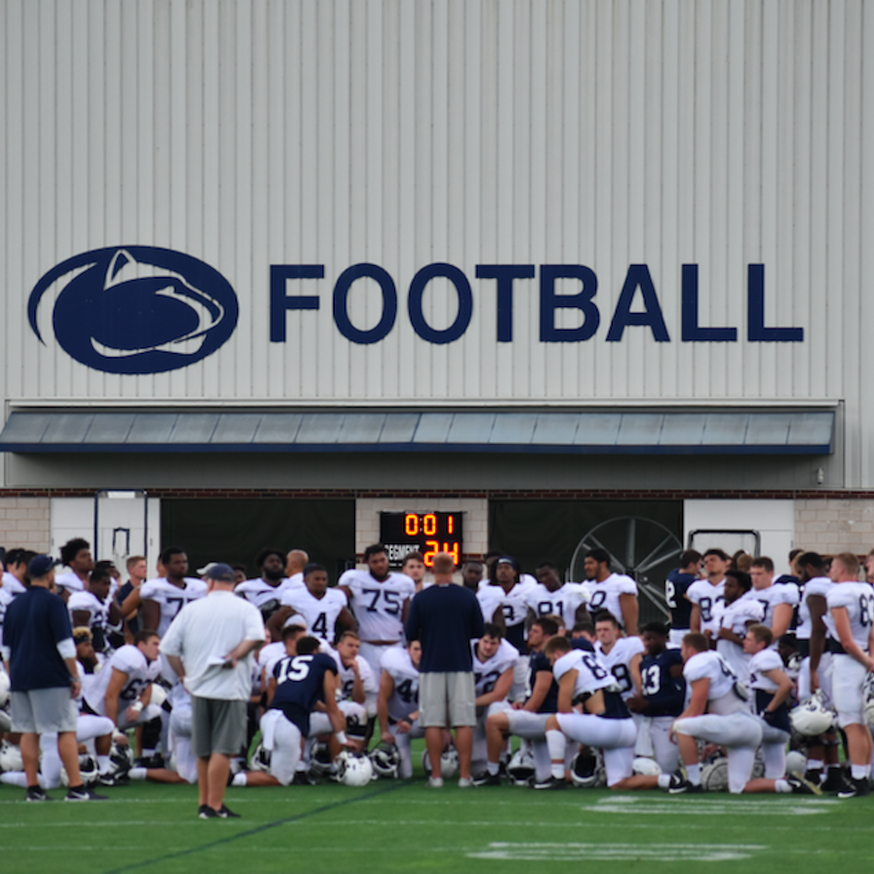 Penn State Football: Players Allowed to Go Home, Testing Will Continue