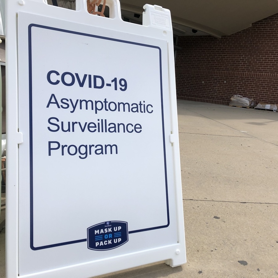 Penn State Opens New COVID-19 Testing & Surveillance Center