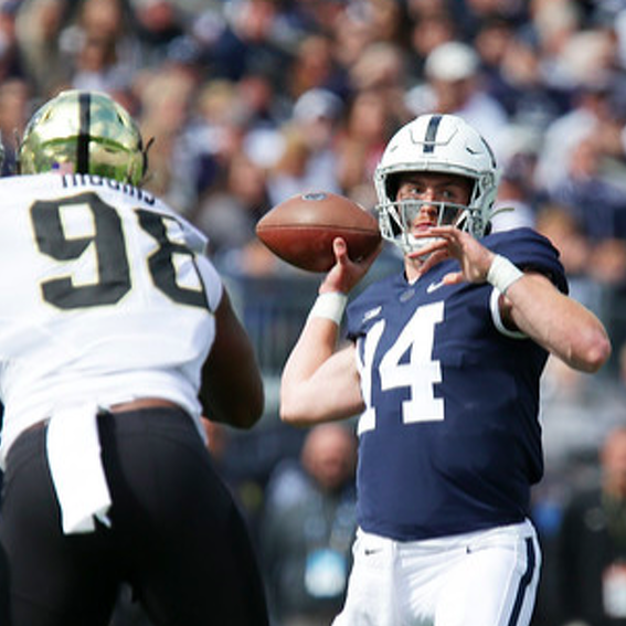 Penn State Football: Ciarrocca Sees Growth in Wideout Group, Experience at QB
