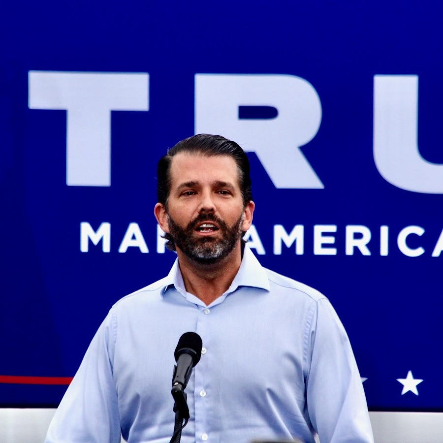 Donald Trump Jr. Makes Campaign Stop in Centre County